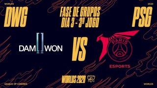 Mundial 2020: Fase de Grupos - Dia 3 | DAMWON Gaming x PSG Talon (3º Jogo)