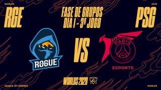 Mundial 2020: Fase de Grupos - Dia 1 | Rogue x PSG Talon (3º Jogo)