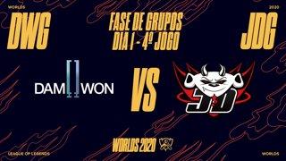 Mundial 2020: Fase de Grupos - Dia 1 | DAMWON Gaming x JD Gaming (4º Jogo)
