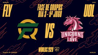Mundial 2020: Fase de Grupos - Dia 3 | FlyQuest x Unicorns of Love (5º Jogo)