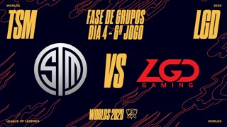 Mundial 2020: Fase de Grupos - Dia 4 | TSM x LGD Gaming (6º Jogo)