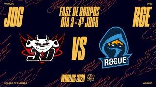 Mundial 2020: Fase de Grupos - Dia 3 | JD Gaming x Rogue (4º Jogo)
