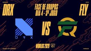 Mundial 2020: Fase de Grupos - Dia 4 | DRX x FlyQuest (3º Jogo)