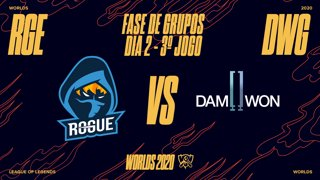Mundial 2020: Fase de Grupos - Dia 2 | Rogue x DAMWON Gaming (3º Jogo)