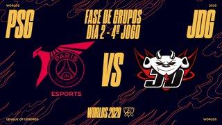 Mundial 2020: Fase de Grupos - Dia 2 | PSG Talon x JD Gaming (4º Jogo)