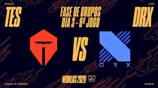 Mundial 2020: Fase de Grupos - Dia 3 | Top Esports x DRX (6º Jogo)