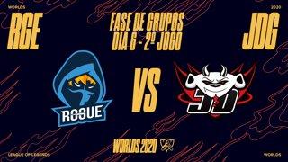 Mundial 2020: Fase de Grupos - Dia 6 | Rogue x JD Gaming (2º Jogo)