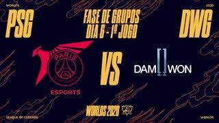 Mundial 2020: Fase de Grupos - Dia 6 | PSG Talon x DAMWON Gaming (1º Jogo)