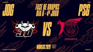 Mundial 2020: Fase de Grupos - Dia 6 | JD Gaming x PSG Talon (4º Jogo)