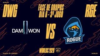 Mundial 2020: Fase de Grupos - Dia 6 | DAMWON Gaming x Rogue (3º Jogo)