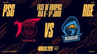 Mundial 2020: Fase de Grupos - Dia 6 | PSG Talon x Rogue (5º Jogo)