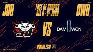 Mundial 2020: Fase de Grupos - Dia 6 | JD Gaming x DAMWON Gaming (6º Jogo)