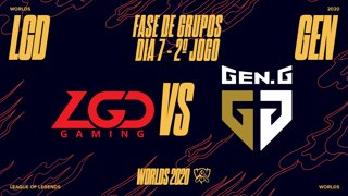 Mundial 2020: Fase de Grupos - Dia 7 | LGD Gaming x Gen.G Esports (2º Jogo)