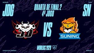 Mundial 2020: Quarta de Final 2 | JD Gaming x Suning (4º Jogo)