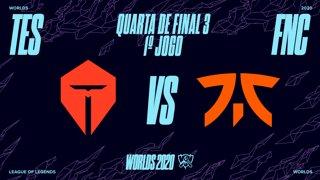 Mundial 2020: Quarta de Final 3 | Top Esports x Fnatic (1º Jogo)
