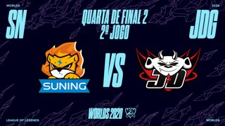 Mundial 2020: Quarta de Final 2 | Suning x JD Gaming (2º Jogo)