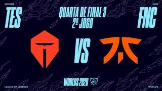 Mundial 2020: Quarta de Final 3 | Top Esports x Fnatic (2º Jogo)