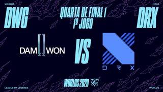 Mundial 2020: Quarta de Final 1 | DAMWON Gaming x DRX (1º Jogo)