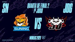 Mundial 2020: Quarta de Final 2 | Suning x JD Gaming (1º Jogo)