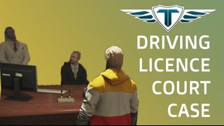 Driving Licence Court Case | Shaggy Dankweed | GTA RP