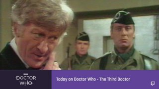 Doctor Who - Third Doctor Promo