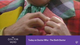 Doctor Who - Sixth Doctor Promo