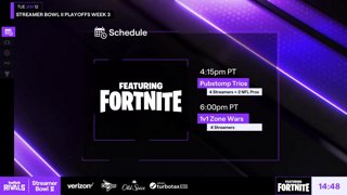 Twitch Rivals: Streamer Bowl II Playoffs Week 3 ft. Fortnite