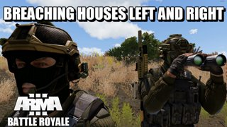 Team Game Breaching Buildings in Bozcaada