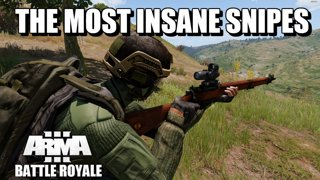 Insane Snipe on Stratis to Finish! Arma 3 Battle Royale Game Highlight #38