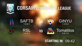 [RERUN] Community League SAFTB vs GINYU & RSL vs Tomatitos