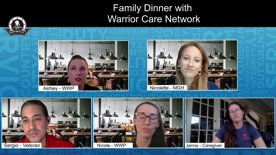 Family Dinner with Warrior Care Network