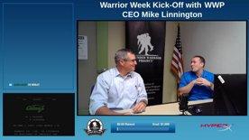 Warrior Week 2020 Kick-off with CEO Mike Linnington