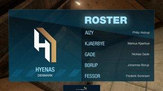 1 Akuma vs HYENAS | BO1 | EDC S4 | by TheCraggy & Anishared