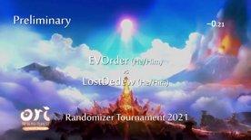 EVOrder vs LostDedew. Ori Randomizer Tournament 2021