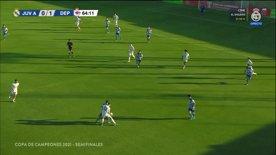 📺 Juvenil A 🆚 Deportivo   Copa de Campeones   Semifinal (partido único)