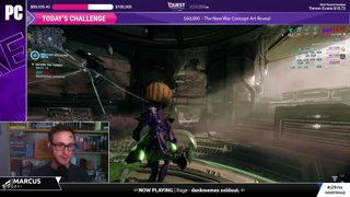 QUEST TO CONQUER CANCER: PC Community Stream w/ Marcus!