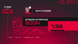 Highlight: MSI Presents #WomenInGaming - Episode 3 featuring GeekyCassie #ad