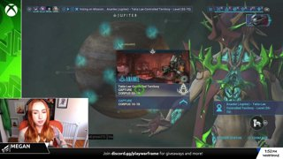Warframe | Working From Home XBOX Stream w/ Megan - Rivens & Sisters!