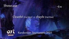 Cleanfel vs shayfe. Ori Randomizer Tournament 2021 (showmatch)