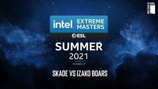 LIVE: SKADE vs Izako Boars - IEM Summer European Open Qualifier #2