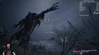 Highlight: (NG) Village of Shadows Speedruns ALL DAY II Resident Evil 8 Village