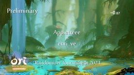 Appletree vs enri. Ori Randomizer Tournament 2021