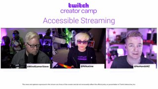 Creator Camp: Making your Twitch channel more accessible.