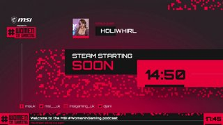 Highlight: New show! MSI Presents #WomenInGaming - Episode 1 featuring Holiwhirl! #ad