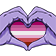 LesbianPride emoticon medium resolution download link