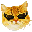 DxCat emoticon large resolution download link