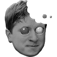 Modified Twitch Emote HolidayCookie Kappa