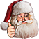 HolidaySanta emoticon medium resolution download link