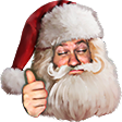 HolidaySanta emoticon large resolution download link