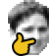Modified Twitch Emote Thinking Kappa